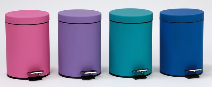 Accesorios Baño Turquesa:Papeleras de Colores / Accesorios y decoración / Baños y