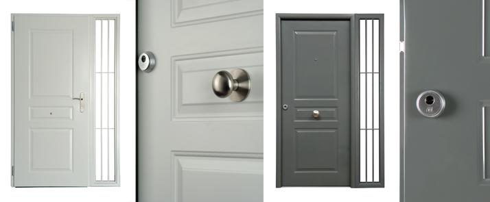 Puertas De Baño Metalicas:Puertas entrada a vivienda de Andreu Barberà / Puertas entrada